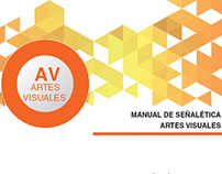 Señalética  Escuela Artes Visuales-ULA