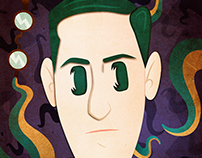 H.P Lovecraft Paper Craft (effect)