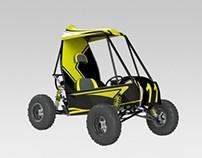 Diseño Automotriz: Prototipo BAJA SAE