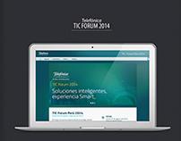 TIC Forum 2014 - Telefónica