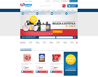 E-commerce Drogaria Soares