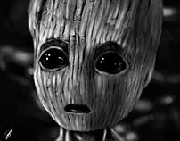 Baby Groot - Digital Art
