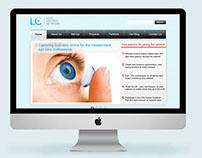 Lens central Website