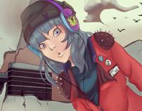 the cutest apocalypse girl