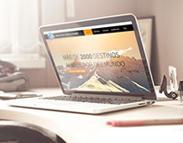 Web Design Asistance travel and tours