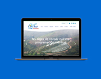 Alfor turismo web design