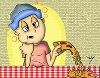 Ilustração - Comer Comer
