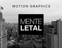 Vinheta Mente Letal - Motion Grapichs