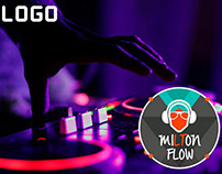 Diseño de logo para un Productor Musica DJ milton