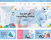 baby store ecommerce