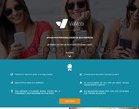 Hotsite desenvolvido para cliente