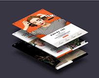 Avanti Revista Web design
