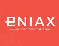 Eniax Branding - Manual de normas gráficas