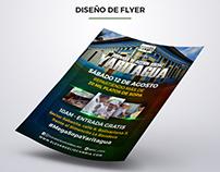Edición de diseño de Flyer para El Evangelio Cambia