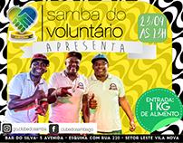 Clube do Samba - Trabalhos gráficos para divvulgação.