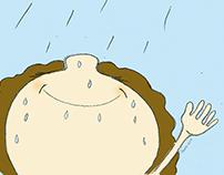 Cuento: Gotas de lluvia