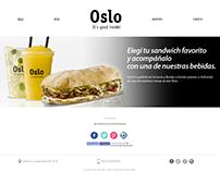 Oslo Gourmet - Diseño y desarrollo de Sitio Web