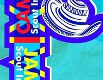 Pendones Delegación Scout al Jamboree Mundial Suecia