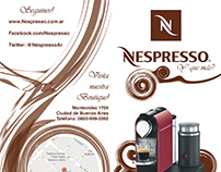 "Folleto ""Nespresso"""