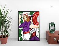 Ilustração Digital - Gitanos