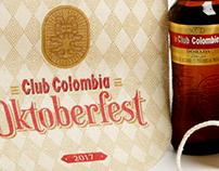 Banderines promocionales Oktoberfest Club Colombia