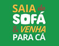 """Saia do sofá"" | Slogan animation"