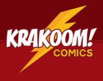 Krakoom! Comics Logo