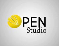 Open Studio Animación llamada a la acción a sitio web