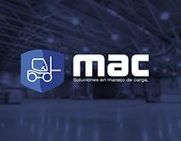 Mac montacargas | Diseño de identidad & Branding