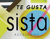 Identidad de marca Sista Accesorios