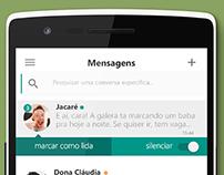 DailyUI #002 - App de Mensagem