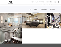 Wordpress website: Robison Barbosa Designer
