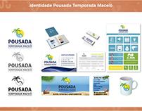 DESIGN DE IDENTIDADE PARA POUSADA TEMPORADA MACEIÓ