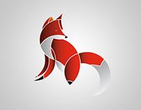Illustration fox design