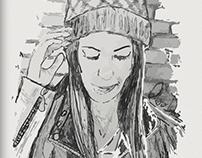 """Proyecto: """"Ellas"""" (Ilustraciones)"""