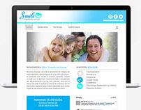 Smile Company, Site web. Template