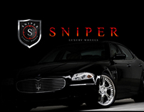 Sniper - Luxury Wheels (Logo Process)