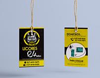 Diseño de Etiquetas. Bucaramanga- Colombia