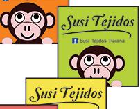 """Imagen corporativa y papelería """"Susi Tejidos"""""""