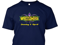 WWE WrestleMania T-shirt