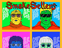 SmokeSellers | El Cambiaformas | Digital EP Cover Art