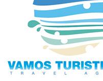 Logotipo Agencia de Viajes VAMOS TURISTEANDO