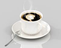 Coffee Modelagem e Renderização