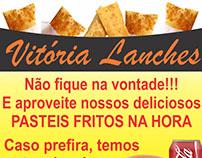 Banner - Vitória lanches