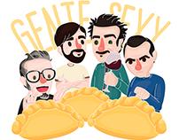 Gente Sexy | Fan art nº2 #FanaticaMal