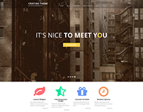 Diseño de plantilla para Wordpress