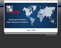 www.dalbertinternacional.com - PHP/MySQL/Flash