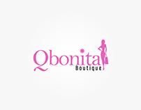 Logotipo Qbonita Boutique