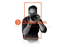 ClubTandem - Landing Page Concept Design