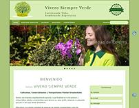 Vivero Siempre Verde - Cultivo y venta de plantas